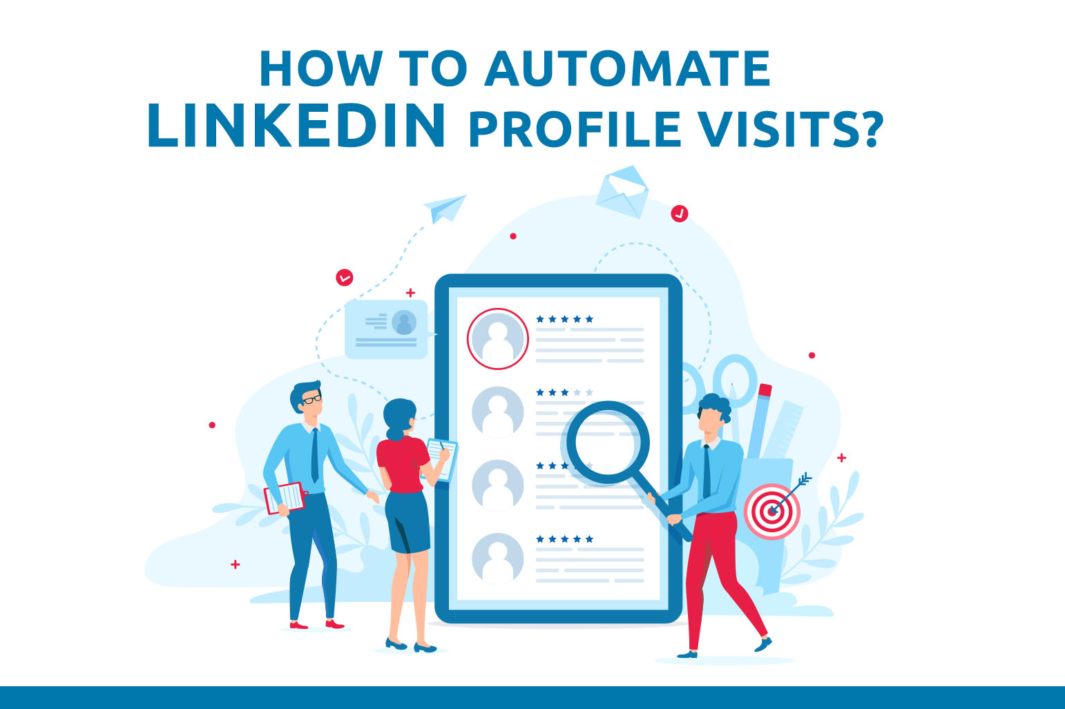 Como automatizar as visitas de perfil do LinkedIn