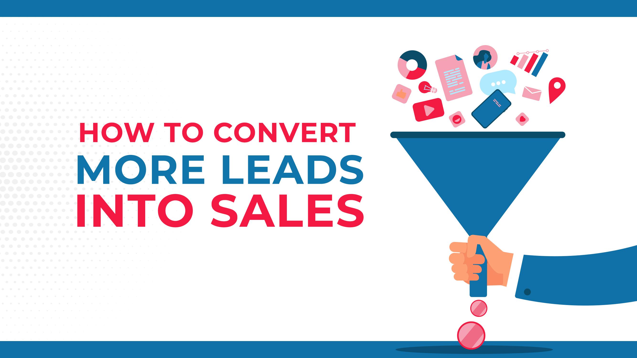 Como converter mais pistas em vendas
