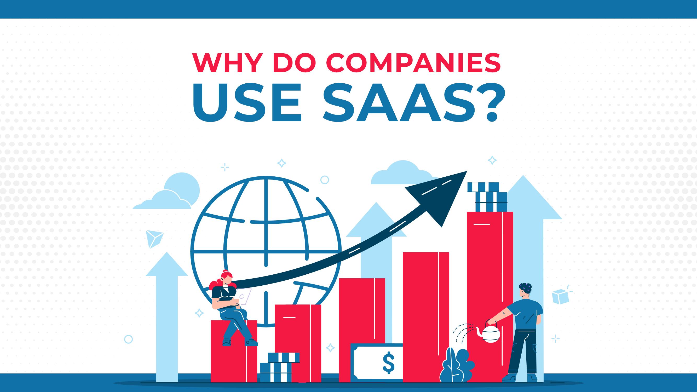 ¿Por qué las empresas utilizan el SAAS?