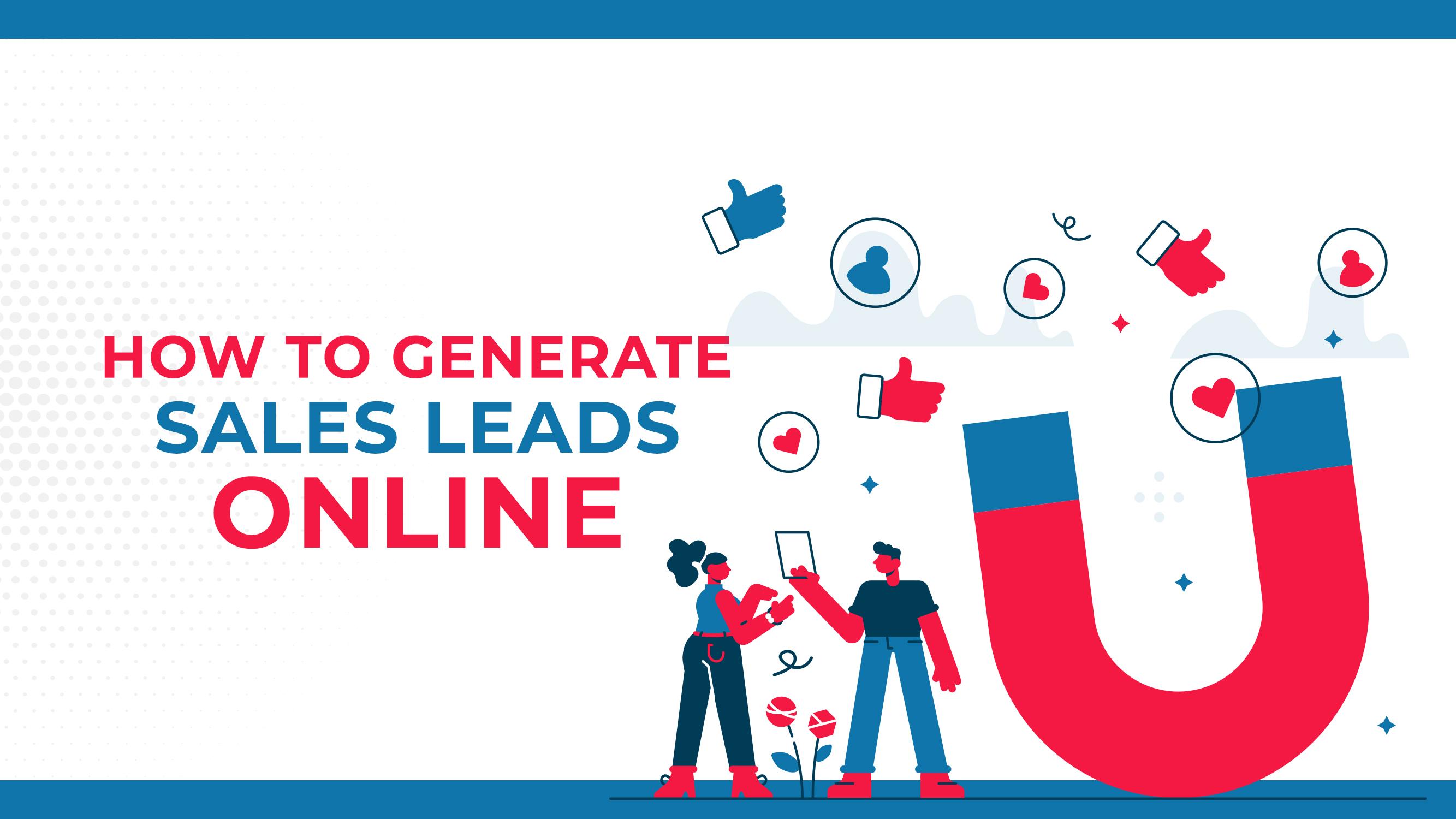 Como Gerar Leads de Vendas Online