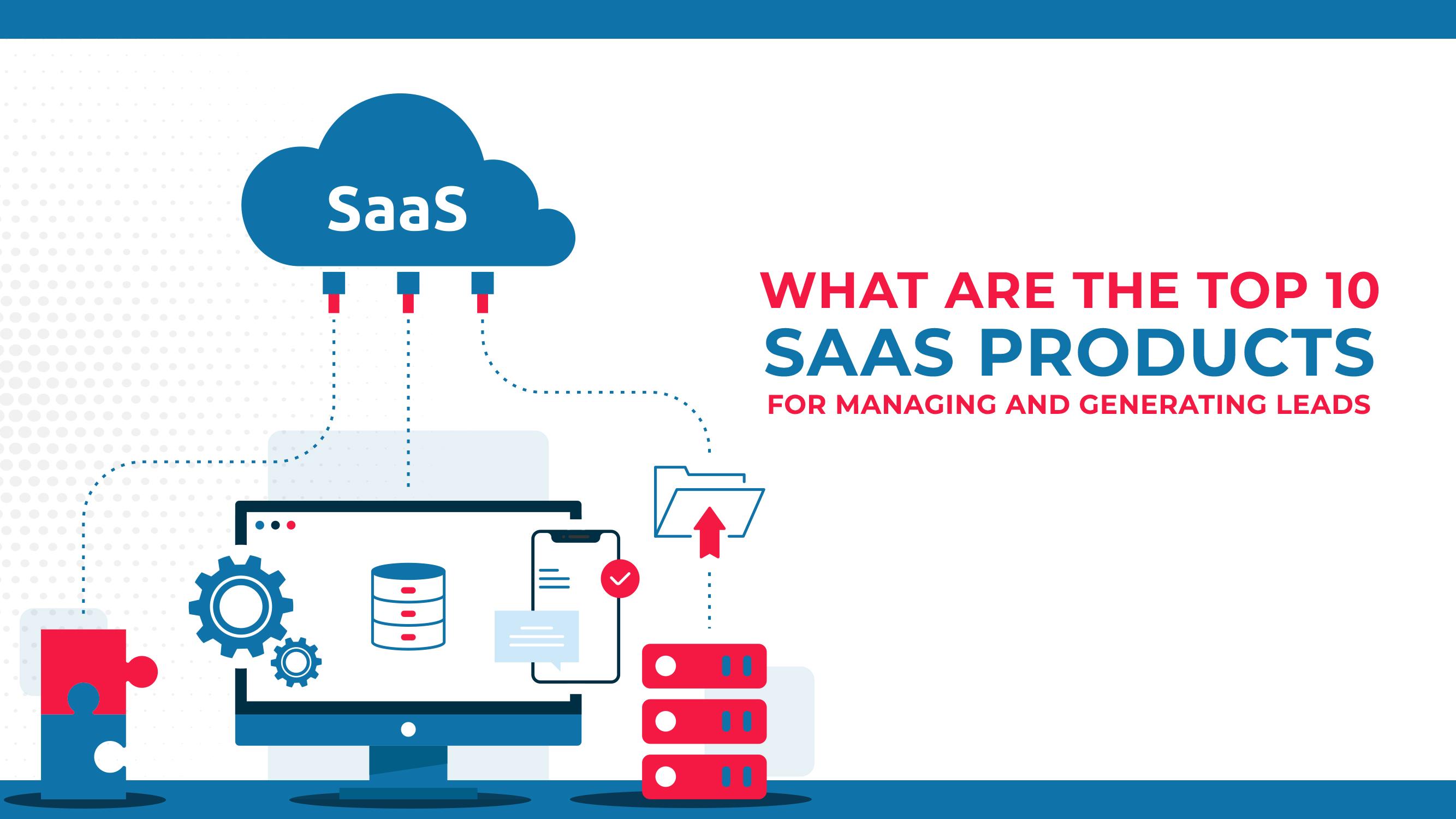 Quais são os 10 principais produtos SAAS para o gerenciamento e geração de pistas?