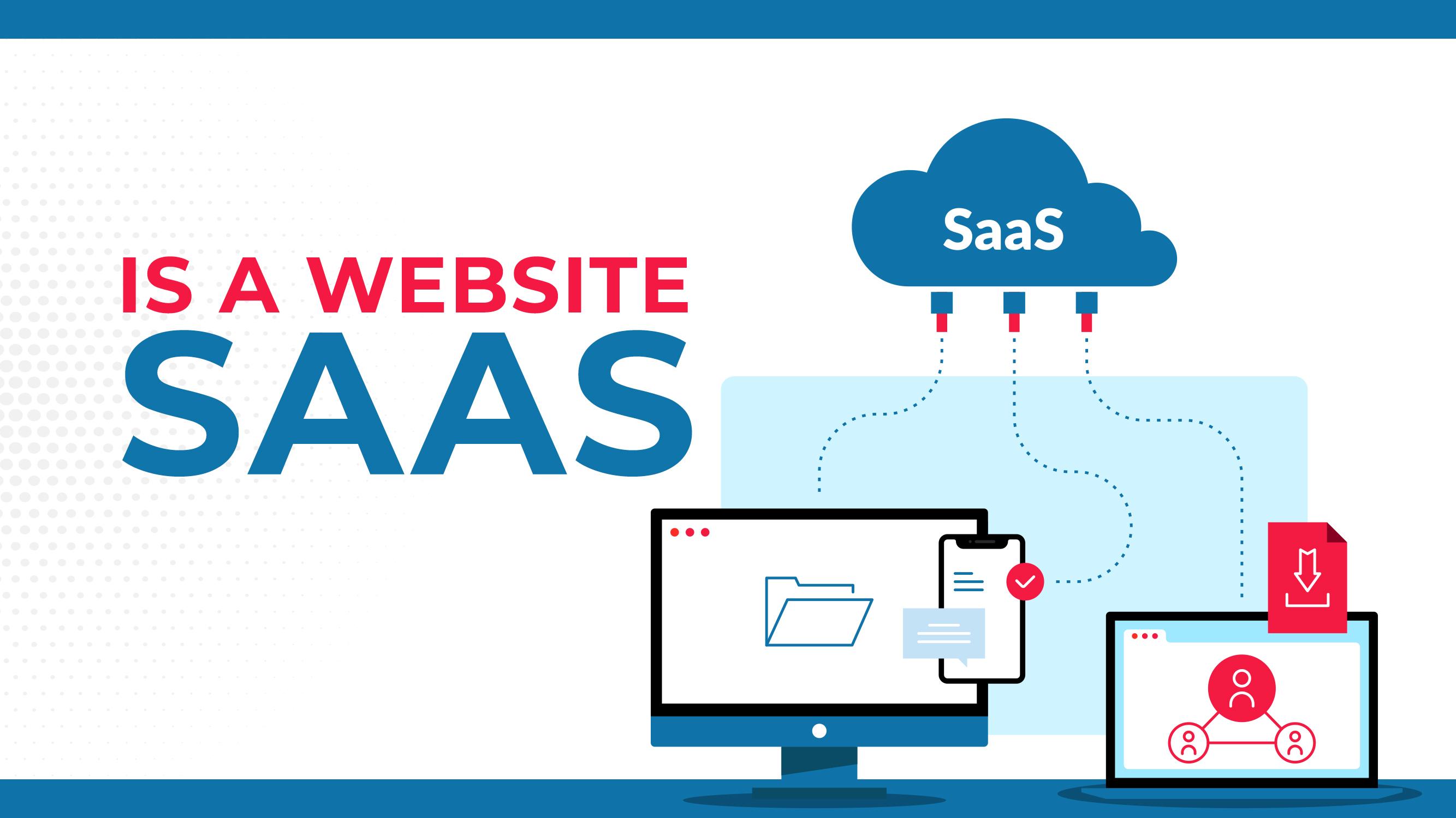 ¿Es un sitio web SAAS?